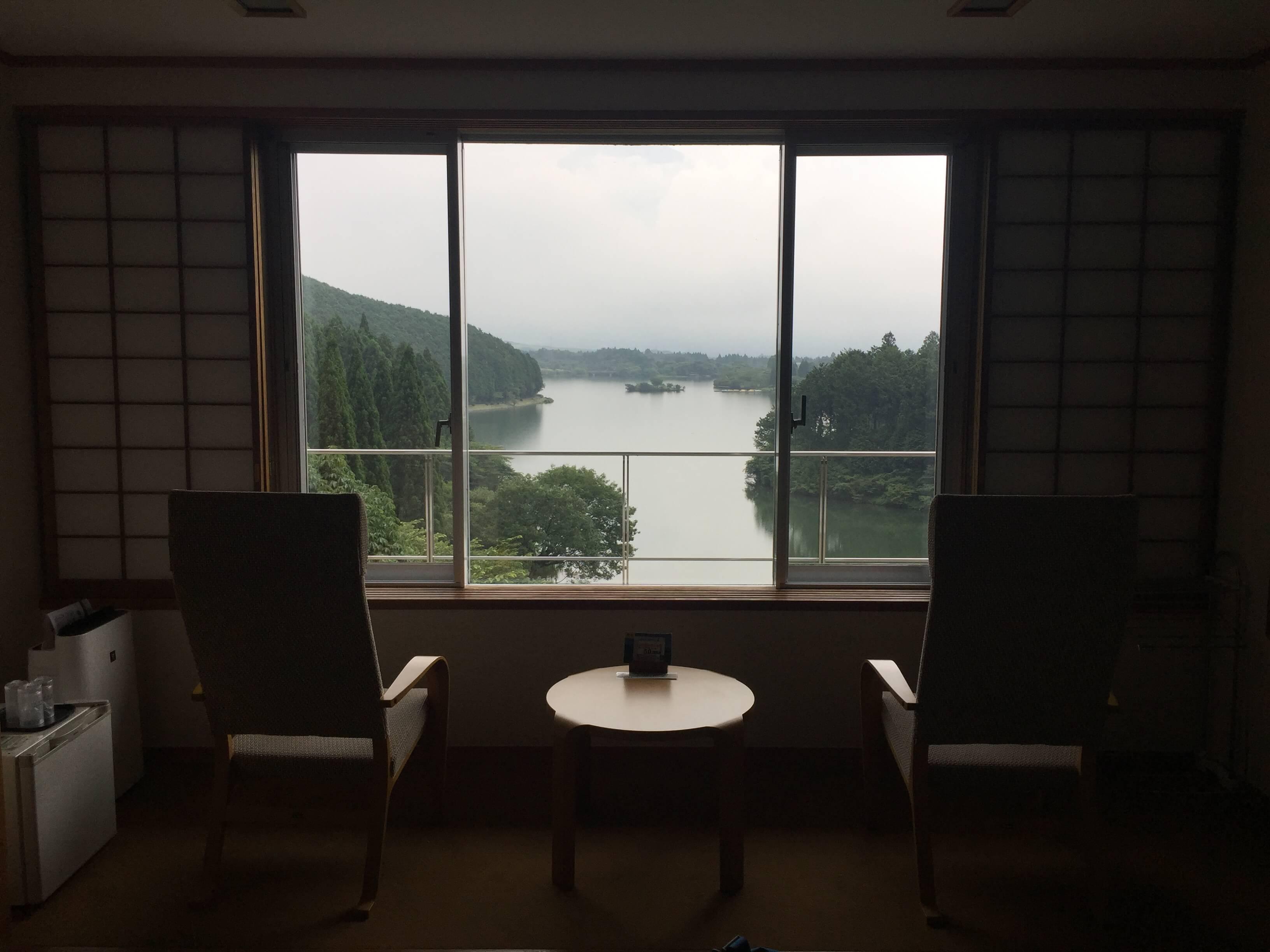 休暇村富士の温泉は