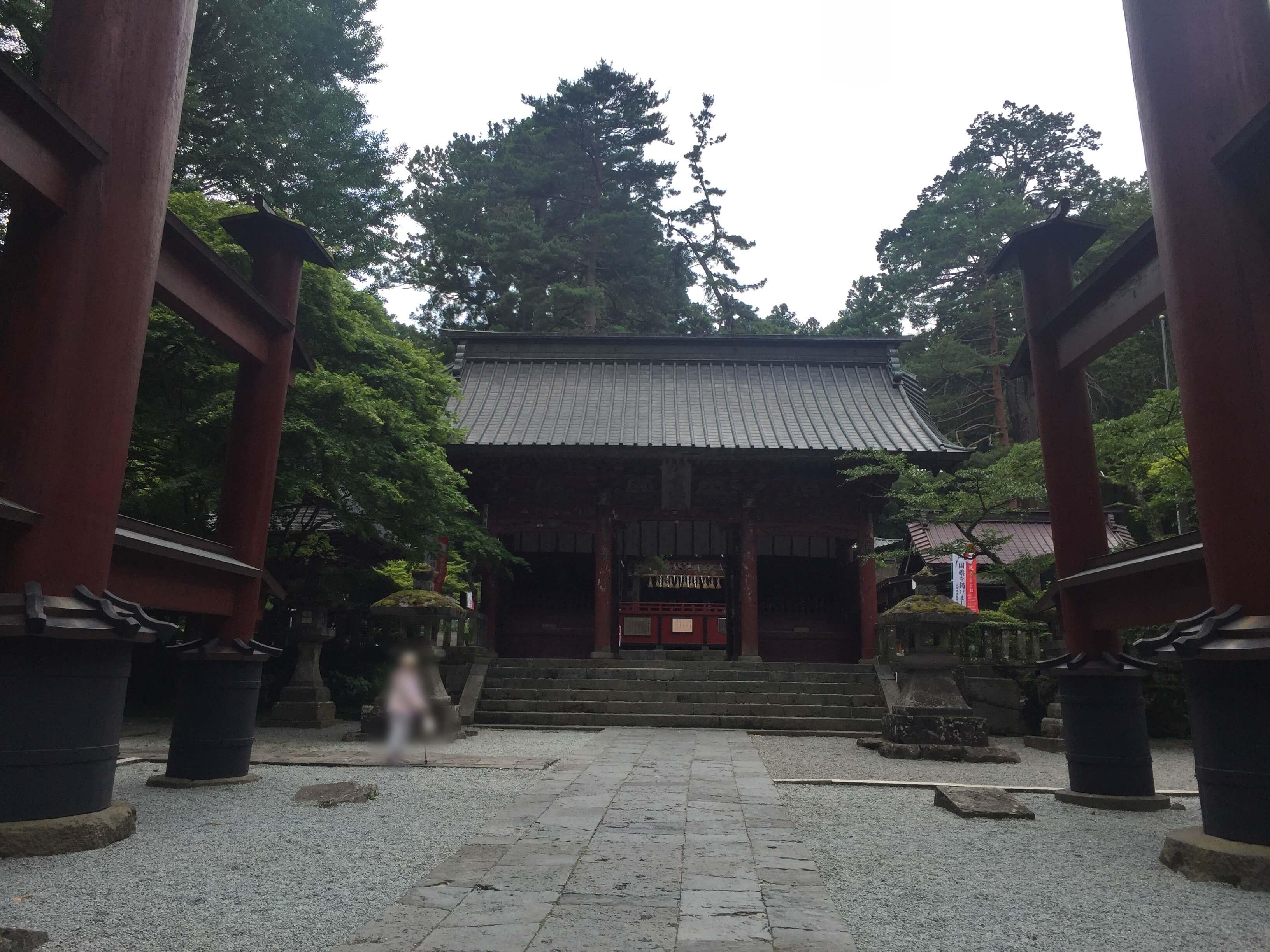 北口本宮冨士浅間神社で婚活パワー