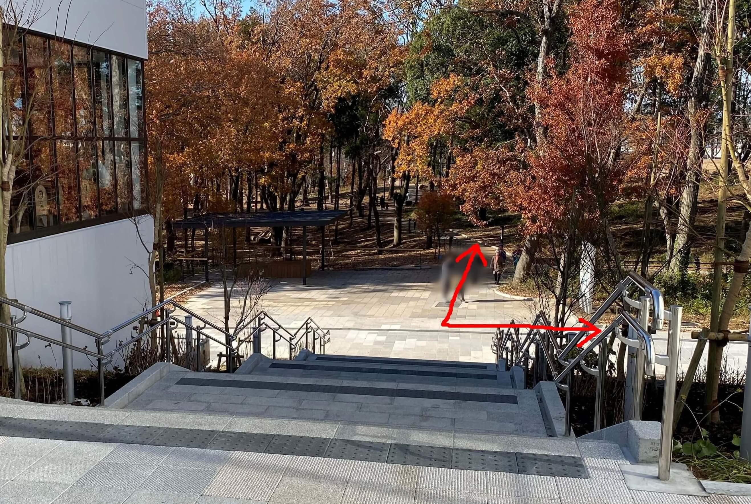 南町田グランべリパークにあるスヌーピー像はどこ