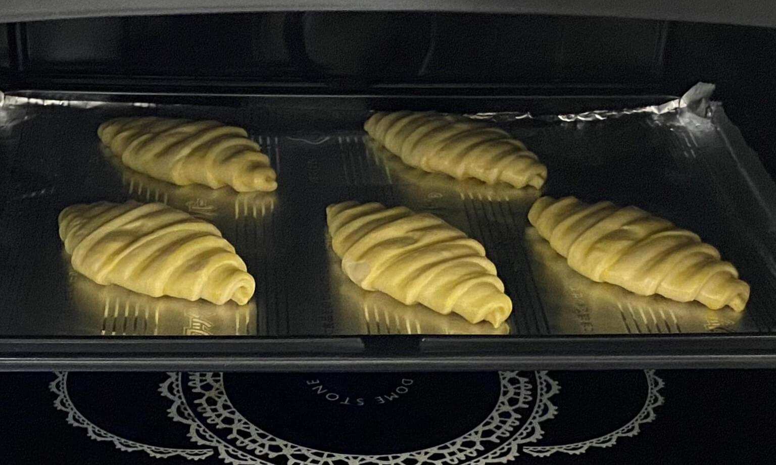 カルディ冷凍クロワッサンオーブン